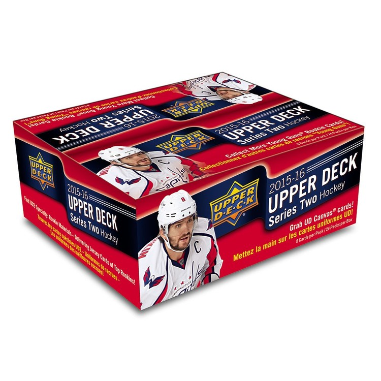 2015-16 Upper Deck Series 2 (Retail Box)