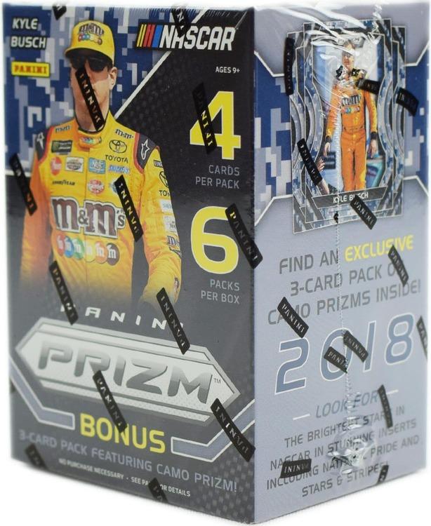 2018 Panini Prizm Racing (7-Pack Blaster Box)