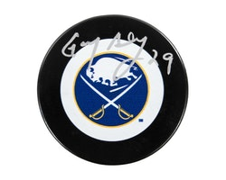 Gary Bromley Autographed Buffalo Sabres Hockey Puck