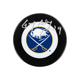 Gary Bromley Autographed Buffalo Sabres Hockey Puck