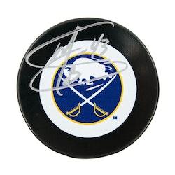 Martin Biron Autographed Buffalo Sabres Hockey Puck