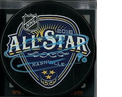 Ryan O'Reilly Autographed Buffalo Sabres 2016 All Star Game Puck