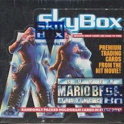 Super Mario Bros. Trading Cards Wax Box (1993 Skybox)