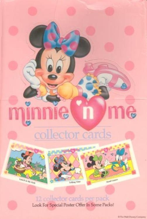 "Minnie ""N"" Me Hobby Box (1991 Impel)"