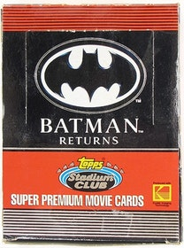 Batman Returns Hobby Box (1992 Topps Stadium Club)