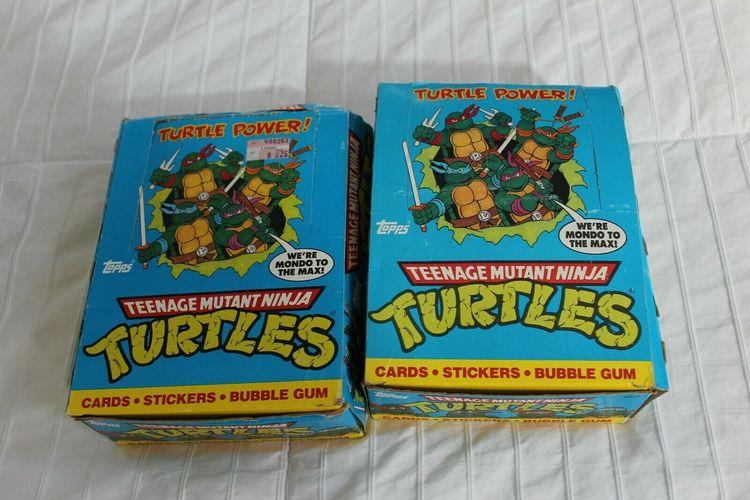 1989 Teenage Mutant Ninja Turtles RETRO BOX