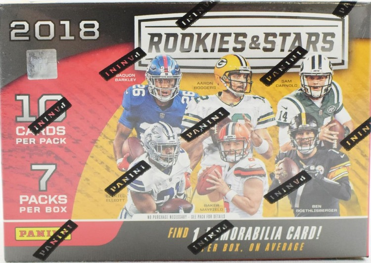2018 Panini Rookies & Stars Football (7-Pack Blaster Box)