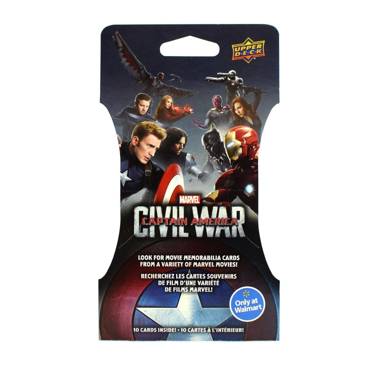 Marvel Captain America: Civil War Trading Cards Super Pack