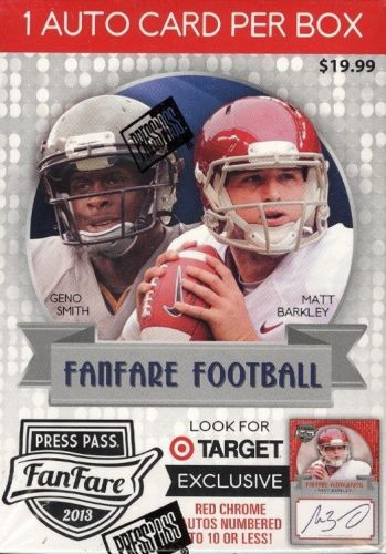 2013 Press Pass Fanfare Football (Blaster Box)