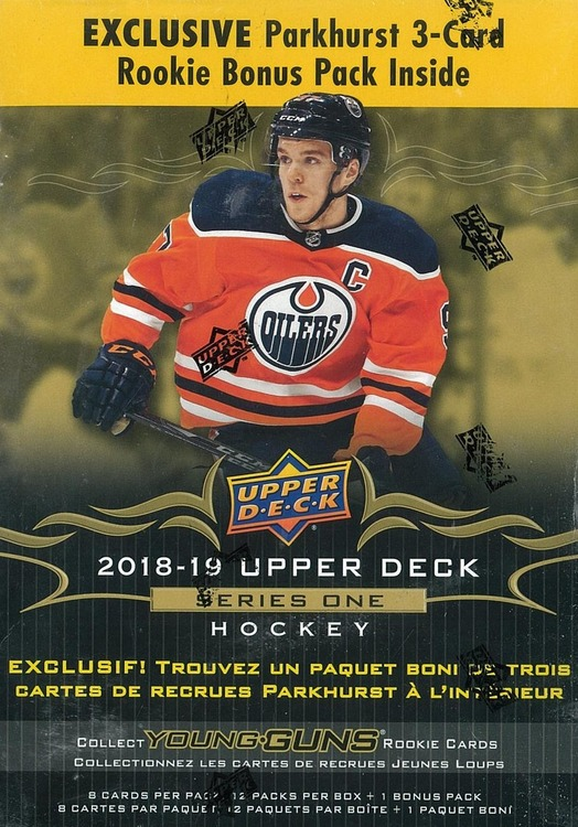 2018-19 Upper Deck Series 1 (Mega Box)