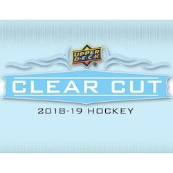 2018-19 Upper Deck Clear Cut (Hobby Box)