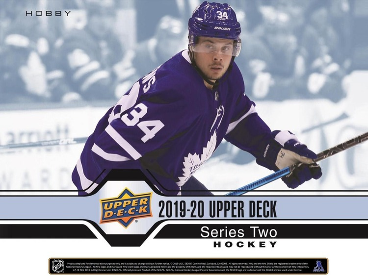 2019-20 Upper Deck Series 2 (Hobby Box)