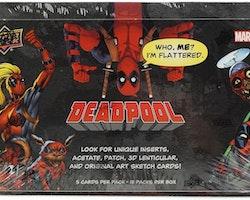 Marvel Deadpool Trading Cards Hobby Box (Upper Deck 2018)