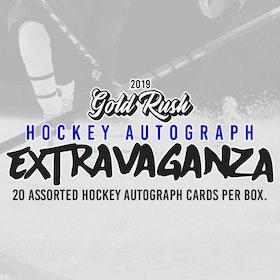 2019-20 Gold Rush Extravaganza Hockey Autograph Box