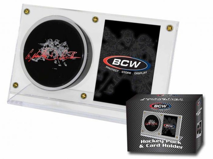 BCW Puck and Card Holder