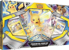 Pokemon Pikachu & Eevee GX Special Collection Box