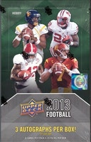 2013 Upper Deck Football (Hobby Box)