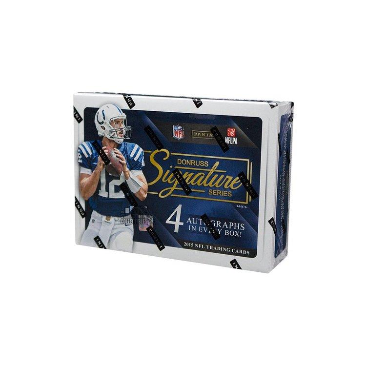 2015 Panini Donruss Signature Series Football (Hobby Box)