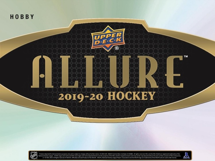 2019-20 Upper Deck Allure (Hobby Box)