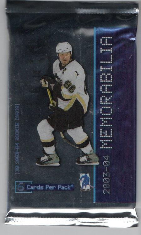 2003-04 Be A Player Memorabilia (Löspaket)