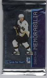 2003-04 Be A Player Memorabilia (Löspaket)