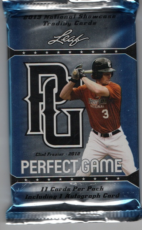 2013 Leaf Perfect Game Showcase Baseball (Löspaket)