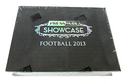 2013 Press Pass Showcase Football (Hobby Box)