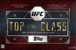 2016 Topps UFC Top of the Class (Hobby Box)