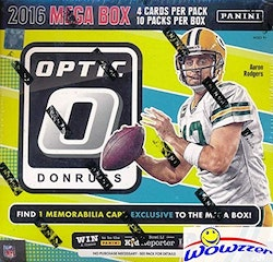 2016 Panini Donruss Optic Football (Mega Box)