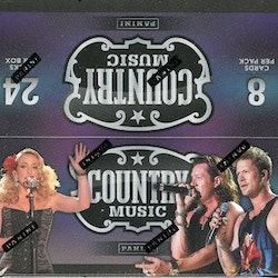 Panini Country Music (Retail Box)