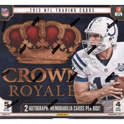 2013 Panini Crown Royale Football (Retail Box)