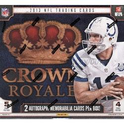 2013 Panini Crown Royale Football (Retail Box)