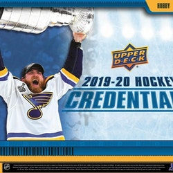 2019-20 Upper Deck Credentials (Hobby Box)