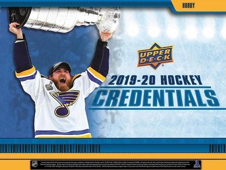 2019-20 Upper Deck Credentials (Hobby Box)