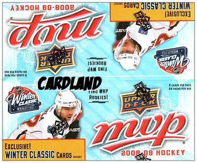 2008-09 Upper Deck MVP Winter Classic (Retail Box)