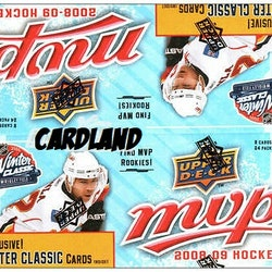 2008-09 Upper Deck MVP Winter Classic (Retail Box)