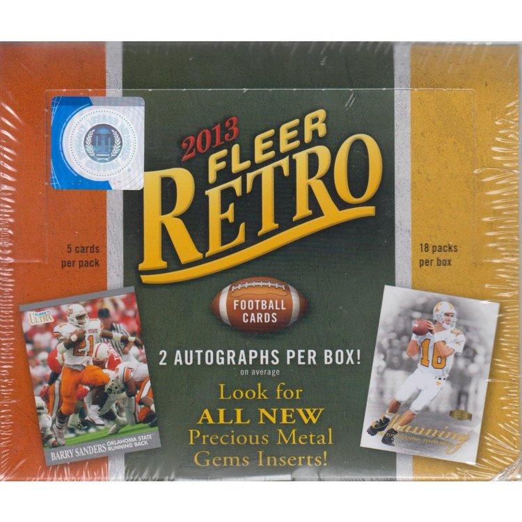 2013 Upper Deck Fleer Retro Football (Hobby Box)