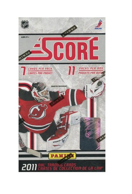 2011-12 Score Hockey (11ct Blaster Box)