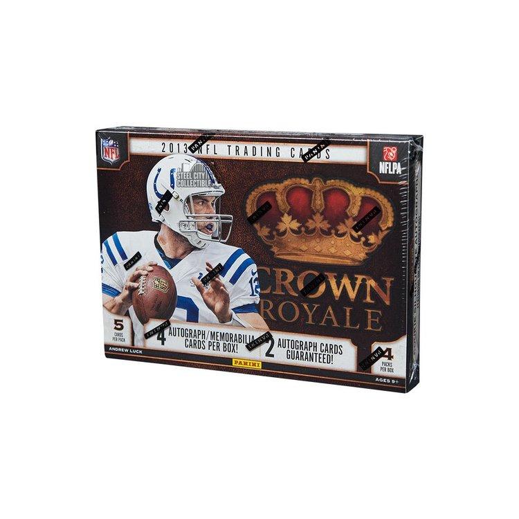 2013 Panini Crown Royale Football (Hobby Box)