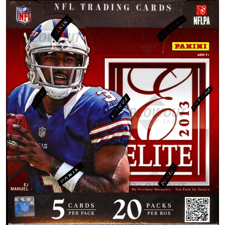 2013 Panini Elite Football (Hobby Box)