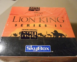 Lion King Series II (Skybox) Trading Cards Box
