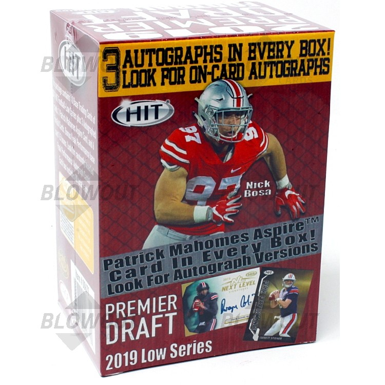 2019 Sage Hit Low Series Football (Blaster Box)