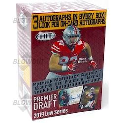 2019 Sage Hit Low Series Football (Blaster Box)