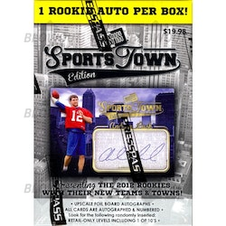 2012 Press Pass Sports Town Football (Blaster Box)