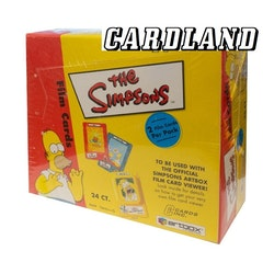 2000 Artbox The Simpsons Film Cards Box