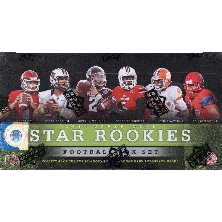 2014 Upper Deck Star Rookies Football (Box Set)