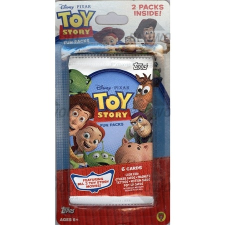 Topps Toy Story Trading Cards (12-Card Blister Pack)
