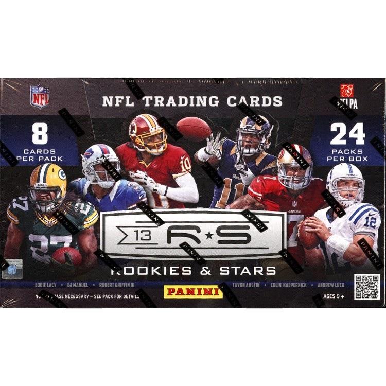 2013 Panini Rookies & Stars Football (Hobby Box)