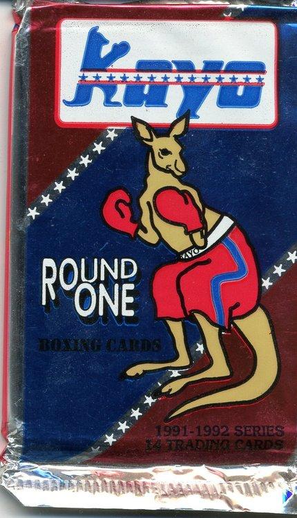 1991 Kayo Round One Boxing Cards (Löspaket)