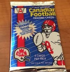 1991 AW Sports All World Canadian Football (Löspaket)